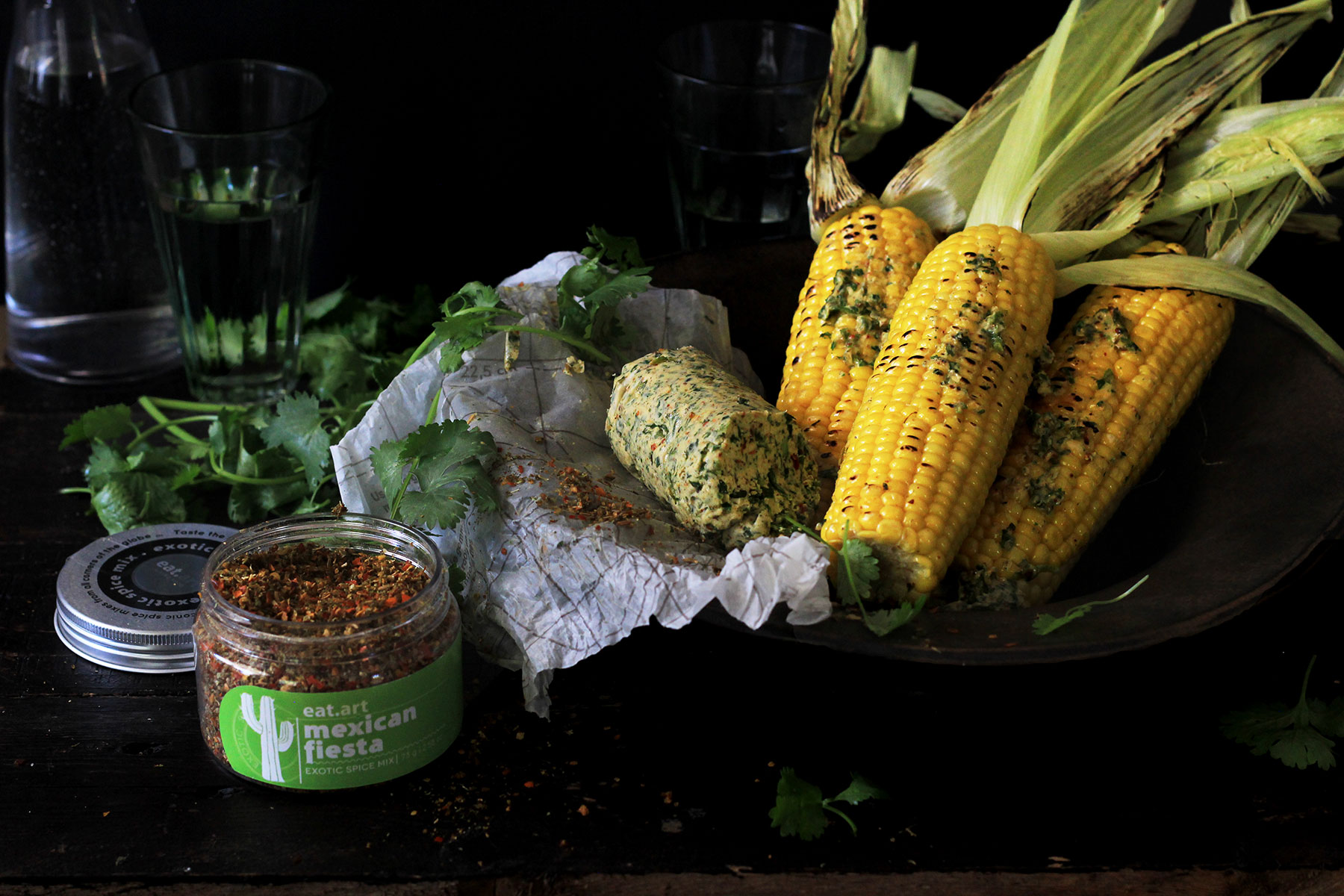 Corn Mexican Butter - Lizet Hartley Food Styling & Photography