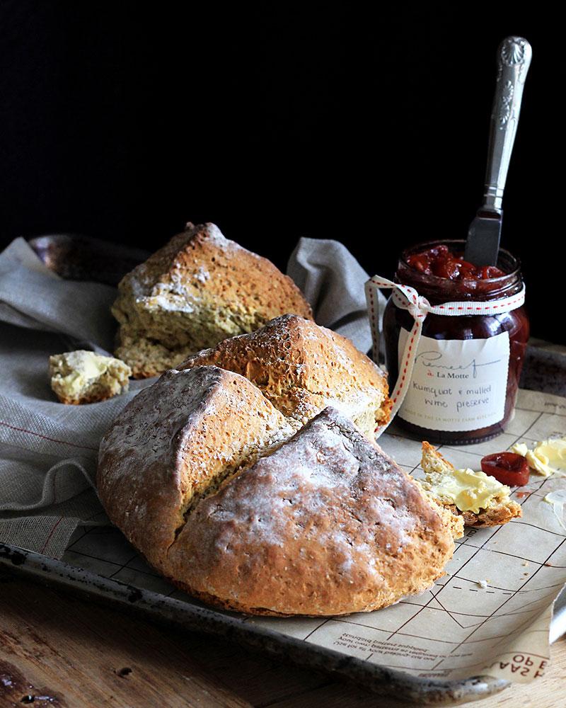 Irish Soda Bread - Lizet Hartley Food Styling & Photography