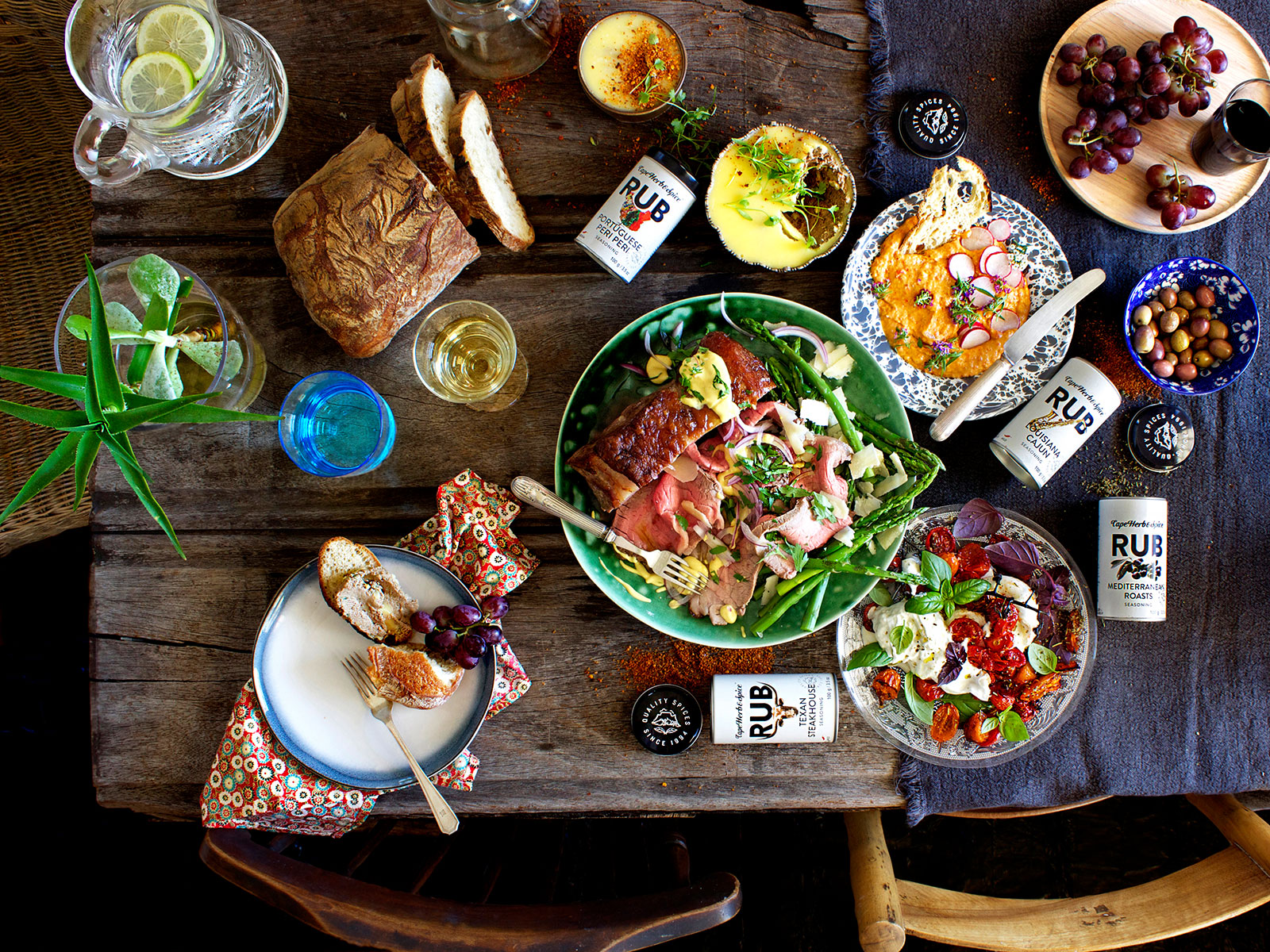 Multi-product Feast Table - Lizet Hartley Food Styling & Photography