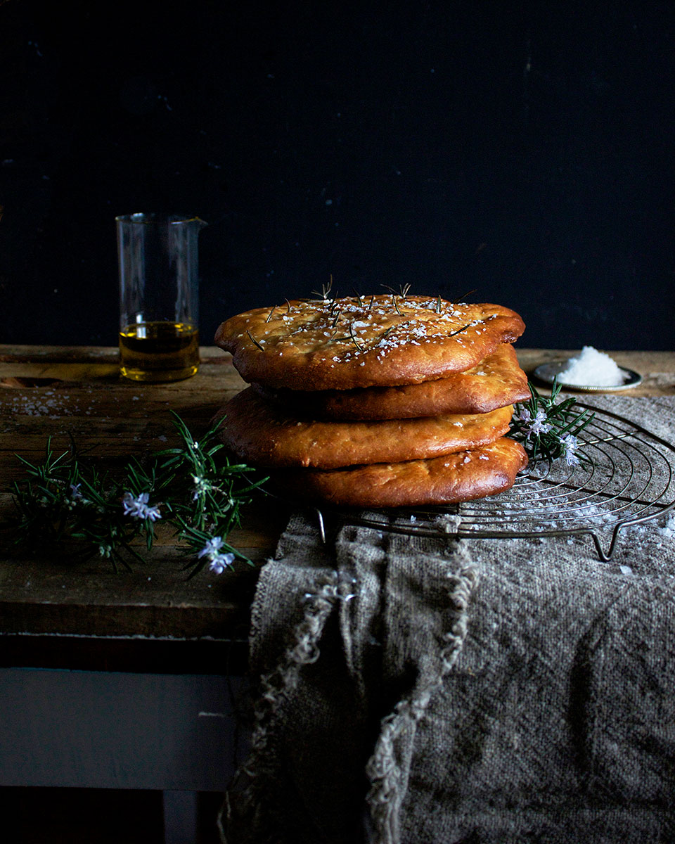 Rosemary Focaccia - Lizet Hartley Food Styling & Photography