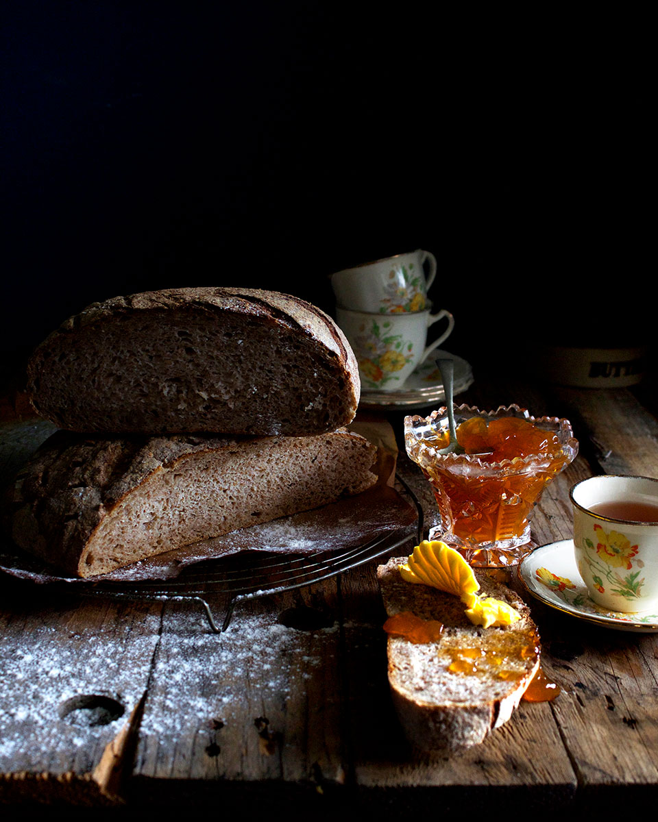 Sourdough bread - Lizet Hartley Food Styling & Photography