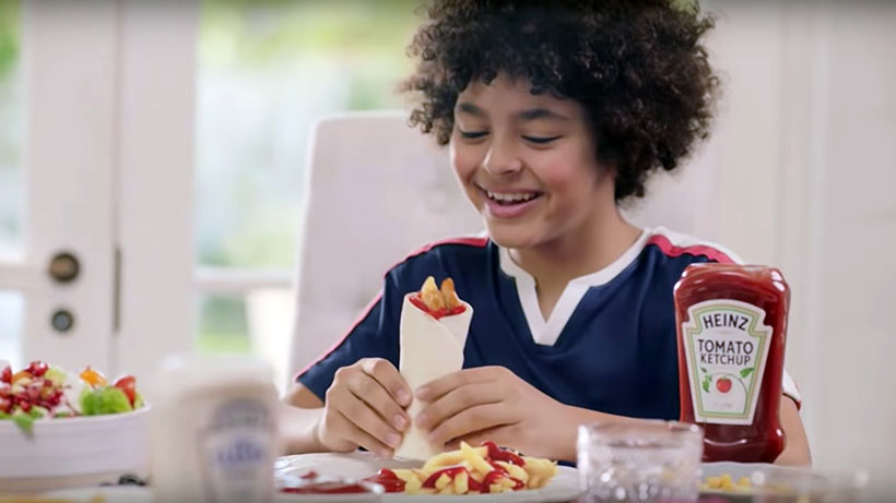 Heinz Ketchup TV Commercial - Lizet Hartley Food Styling